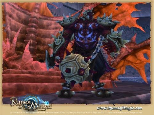 RunesOfMagic_Cyclops_Stronghold_-_Boss_King_Uguda