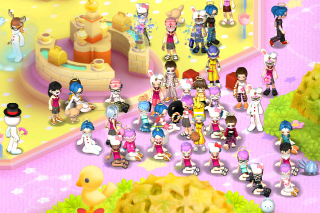 Hello kitty online zona mmorpg for Create your home online