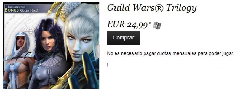 NCsoft® engloba Tres Campañas de Guild Wars en edición especial