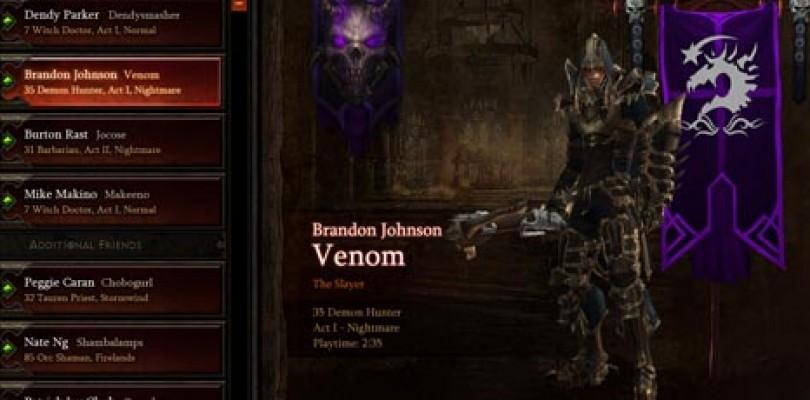 Diablo III se lanzará a comienzos del 2012