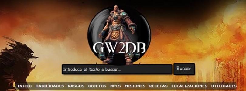 Información sobre la Wiki y Database española de GW2
