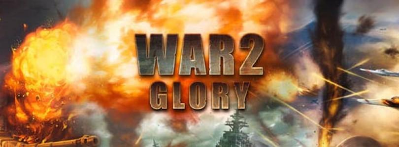 ¡Sorteo de 200 claves para War2 Glory con 2 Packs de Regalo!