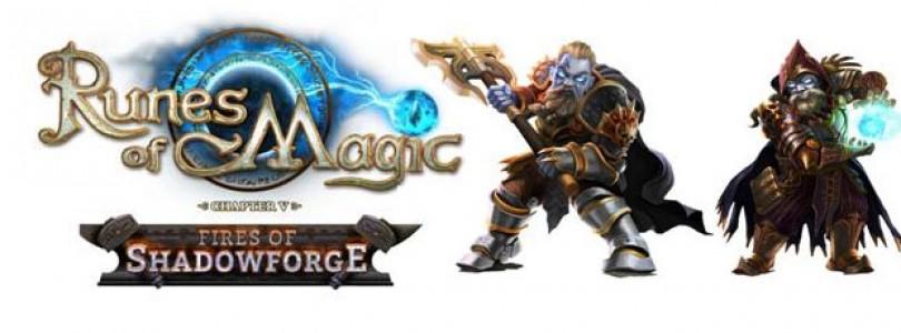 La web de Runes of Magic se rediseña