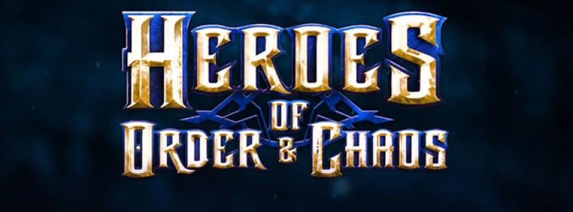 Trailer de Heroes of Order & Chaos, un nuevo MOBA para móviles