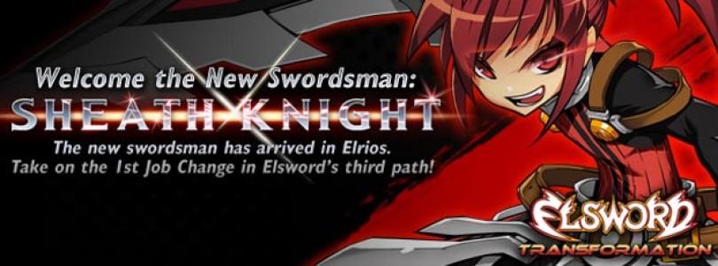 Elsword: Añadida su nueva clase, el Sheath Knight