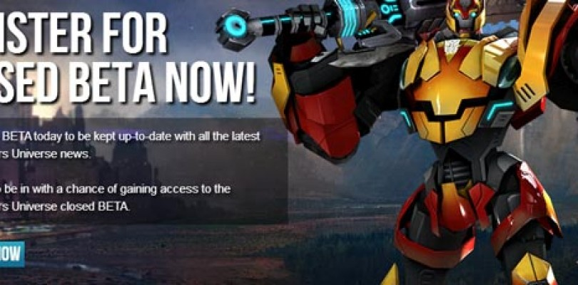 Transformers Universe: Nueva web y registros para la beta