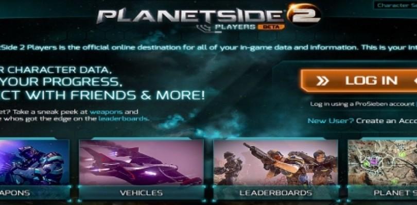 Planetside 2: Lanzada una nueva pagina web
