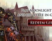 Claves con objetos de regalo para Moonlight Online