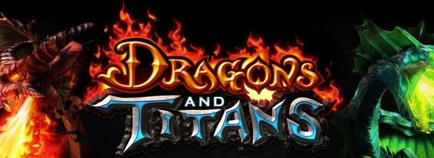 Dragon and titans