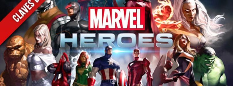 1500 Claves para participar en la beta de Marvel Heroes