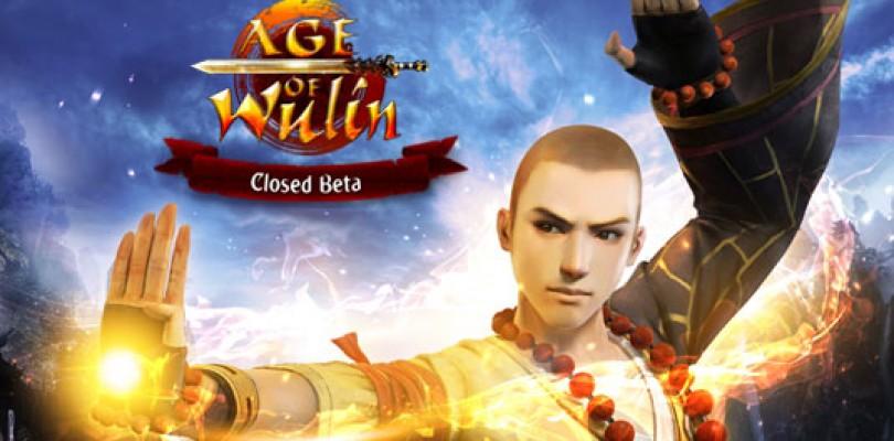 Comienza la beta cerrada de Age of Wulin