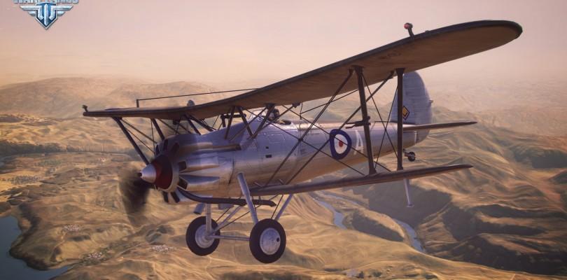World of Warplanes: Los aviones británicos disponibles