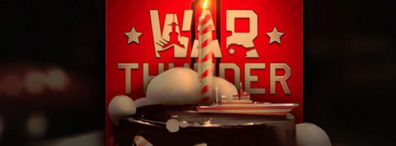 War Thunder celebra su aniversario con 5 millones de usuarios registrados