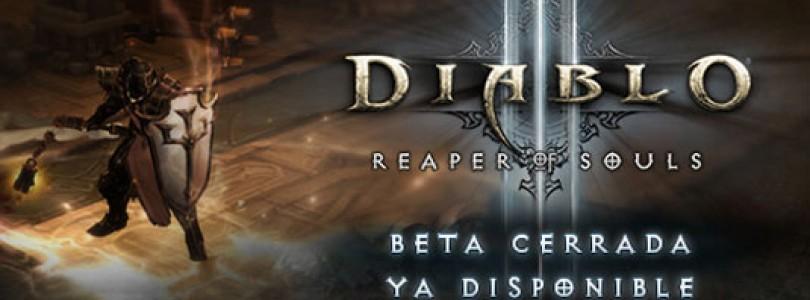 Comienza la beta cerrada de Diablo III: Reaper of Souls y del parche 2.0.1