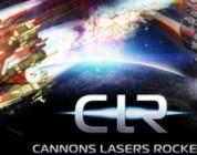 Cannons Lasers Rockets un moba de naves espaciales