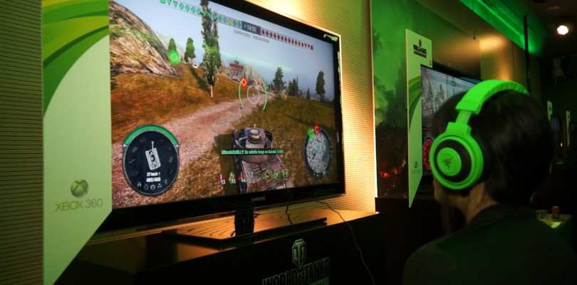 Presentación de World of Tanks en su versión de Xbox 360