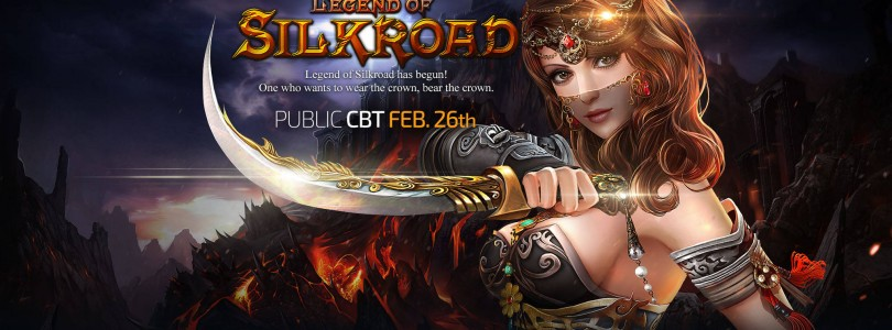 Legend of Silkroad: Closed Beta el 26 de Febrero