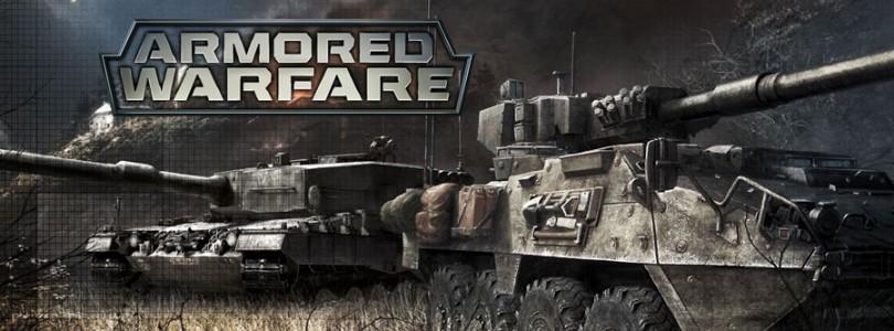 Los tanques arrasan con todo en el nuevo trailer de Armored Warfare