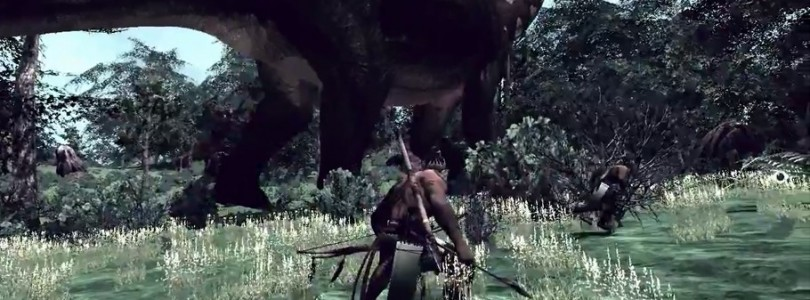 The Stomping Land es un MMO supervivencia con dinosaurios