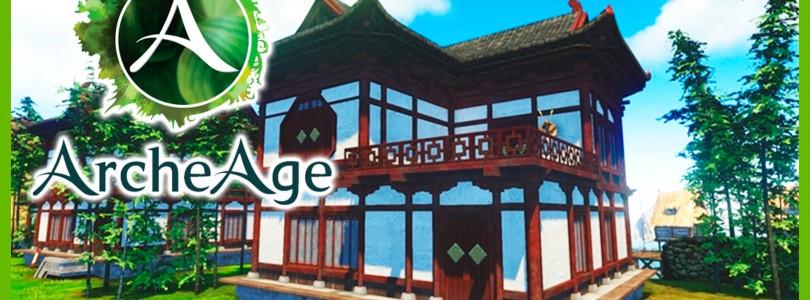 ArcheAge: Sistema de Clases y Combos y construcción de casas