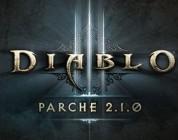 Ya disponible el parche 2.1 de Diablo III – Fallas superiores, temporadas, gemas legendarias…