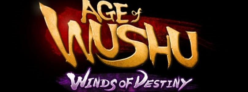 Age of Wushu: Winds of Destiny llegará en octubre
