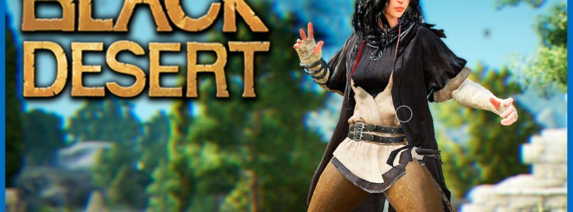 Black Desert: Gameplay con el Sorceress