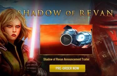 Star Wars: The Old Republic – Shadow of Revan nuevo tráiler