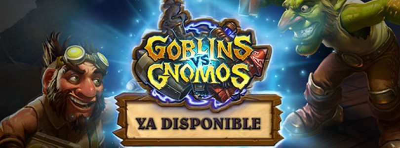 Ya disponible la expansión de Hearthstone Goblins vs. Gnomos