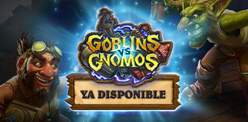 Ya disponible la expansión de Hearthstone Goblins vs. Gnomos