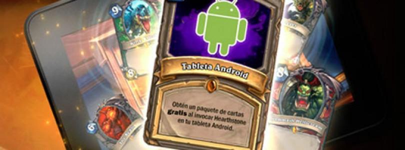 HearthStone ya está disponible en tablets Android