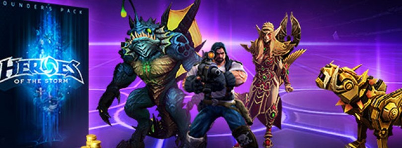 Consigue acceso a la beta de Heroes of the Storm con el Pack de Fundador
