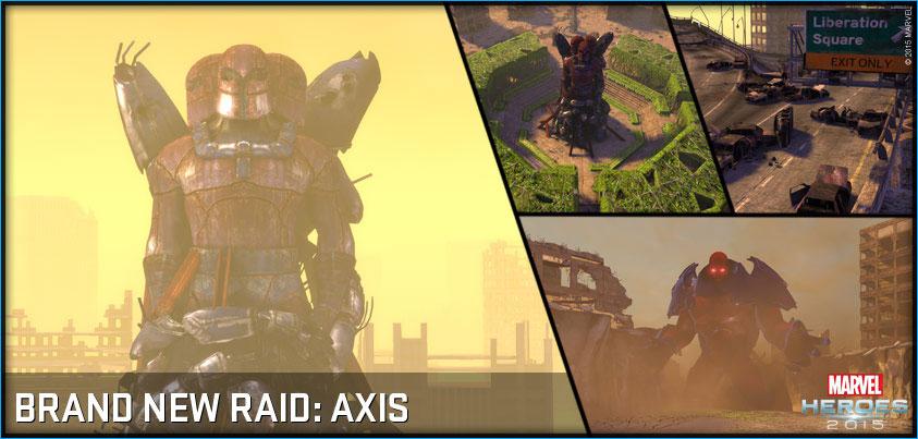 Una nueva raid y el sistema de influencia llegan a marvel heroes 2015 zona mmorpg