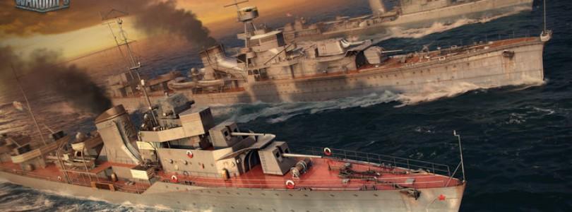 World of Warships mejora el emparejamiento, más modos y nuevo proceso de desarrollo