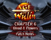 Repartimos 2000 packs de Age of Wulin Chapter 6: Blood & Flowers