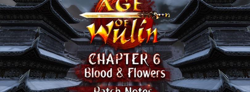 Repartimos 2000 packs de Age of Wulin Chapter 6: Blood & Flowers