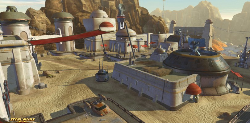 Star Wars The Old Republic: Más casas en el servidor de pruebas
