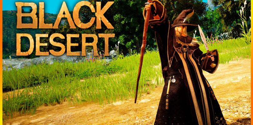 Black Desert: Vídeo gamplay con la nueva clase Wizard