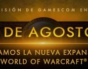 La nueva expansión para World of Warcraft  se presentara en la Gamescom 2015