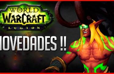 WoW Legion: Novedades sobre Demon Hunter, clases y profesiones