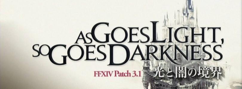 """FFXIV: A Realm Reborn – Estrenado el parche 3.1 """"As Goes Light so Goes Darkness"""""""