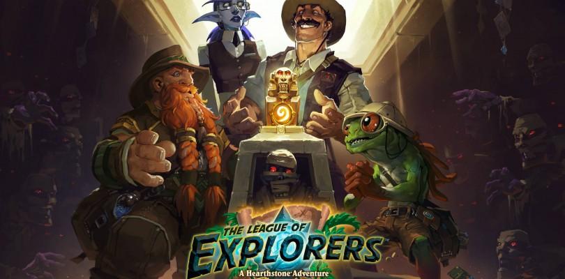 ¡La segunda ala de la nueva aventura de Hearthstone, La Liga de Expedicionarios™, ya está disponible!