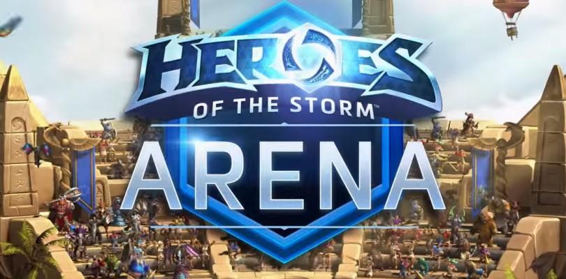 Novedades en Heroes of the Storm – La Arena, nuevo mapa, nuevos héroes y mas…