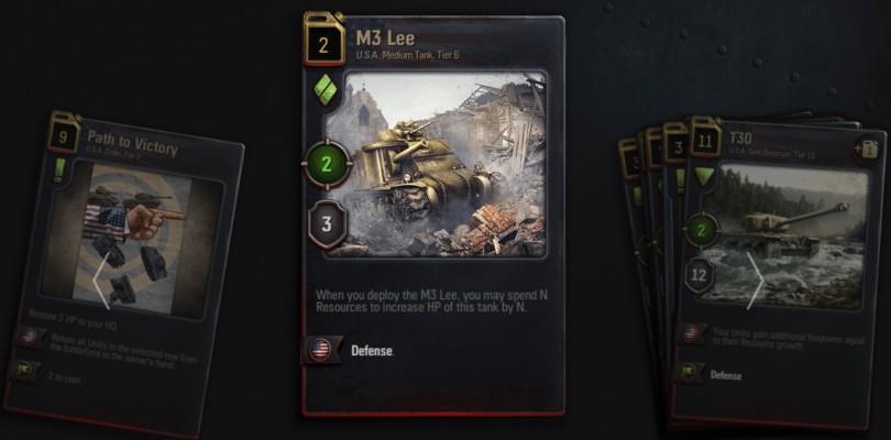 Wargaming lanza el juego de cartas World of Tanks Generals