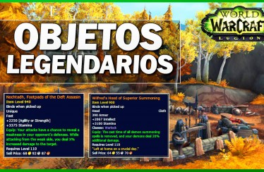 World of Warcraft Legion: Un vistazo a los objetos legendarios