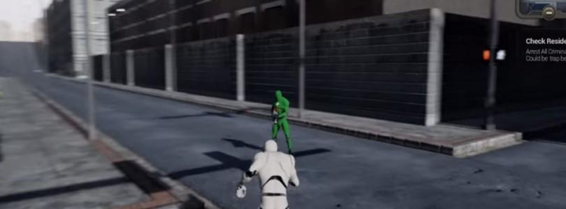 Vídeo gameplay del prototipo para City of Titans