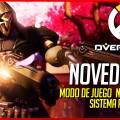 Overwatch: Nuevo modo de juego y progresión
