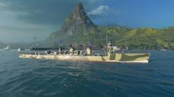 World of Warships: Consigue gratis el destructor Tachibana