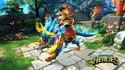 Tachi Panda: Heroes presenta su actualización Crimson Ride