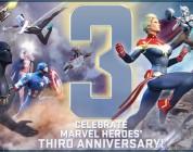 Marvel Heroes celebra su tercer aniversario con regalos y eventos